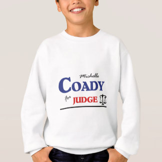 ミシェールCoadyの巡回裁判官を選んで下さい スウェットシャツ