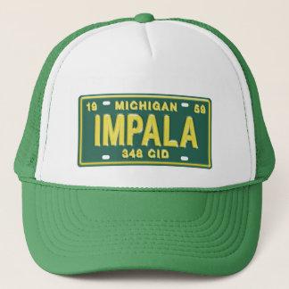 ミシガン州のナンバープレートのTシャツからのインパラ キャップ