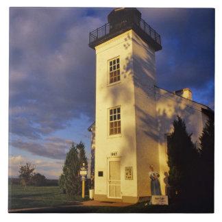 ミシガン州の上のEscanabaの灯台 タイル