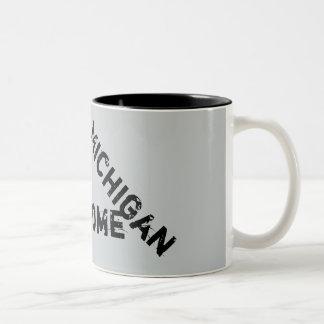 ミシガン州の素晴らしい引用文のコーヒー・マグ ツートーンマグカップ