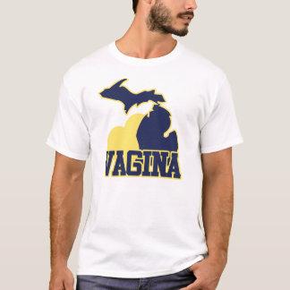 ミシガン州の膣 Tシャツ