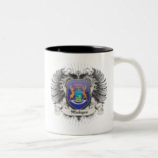 ミシガン州の頂上 ツートーンマグカップ
