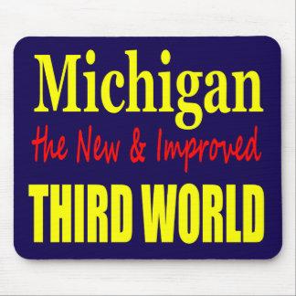 ミシガン州新しい及び改良された第三世界 マウスパッド