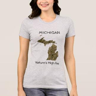 ミシガン州-性質の高い5 Tシャツ