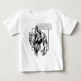 ミシガン州Dogman ベビーTシャツ