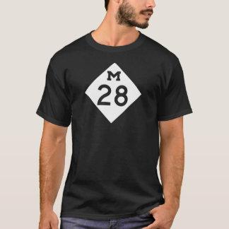 ミシガン州M-28 Tシャツ