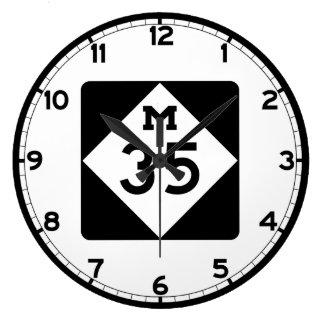 ミシガン州M-35 時計