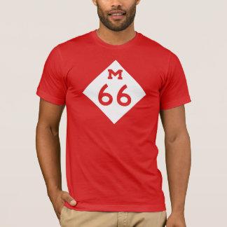 ミシガン州M-66 Tシャツ