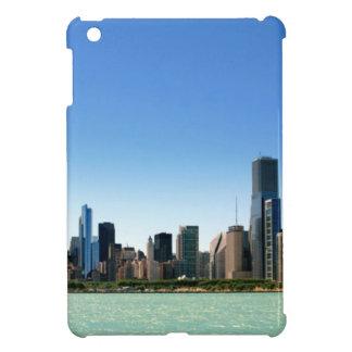 ミシガン湖著シカゴのスカイラインの眺め iPad MINI CASE