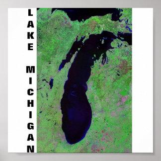 ミシガン湖 ポスター