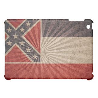 ミシシッピーのクールでグランジな旗 iPad MINIカバー