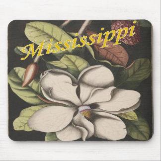 ミシシッピーのマグノリアのマウスパッド マウスパッド