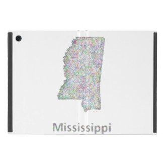 ミシシッピーの地図 iPad MINI ケース