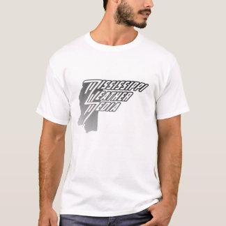 ミシシッピーの天候媒体のTシャツ Tシャツ