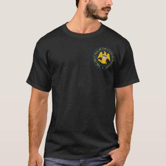 ミシシッピーの州のシールのTシャツ Tシャツ