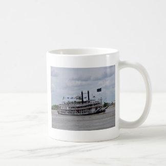 ミシシッピー川のボートニュー・オーリンズ コーヒーマグカップ