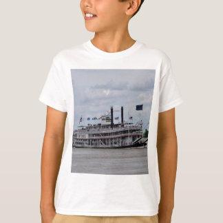 ミシシッピー川のボートニュー・オーリンズ Tシャツ