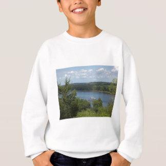 ミシシッピー川のボート スウェットシャツ
