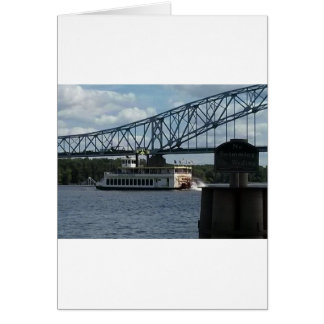 ミシシッピー川のDubuqueの精神 カード