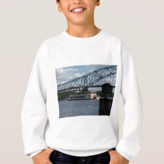 ミシシッピー川のDubuqueの精神 スウェットシャツ