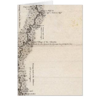 ミシシッピー2のコースの地図 カード