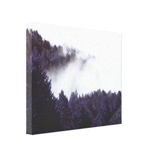 ミステリー霧の包まれたなキャンバス20x16 キャンバスプリント