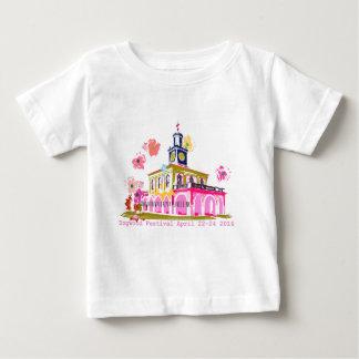 ミズキのフェスティバル2016都心のフェーエットビルNC ベビーTシャツ