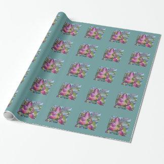 ミズキの花の包装紙 ラッピングペーパー