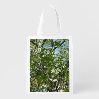 ミズキの花の春の木の枝 エコバッグ