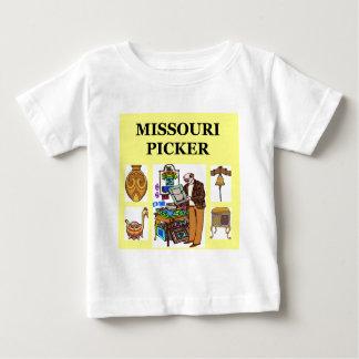 ミズーリのピッカー ベビーTシャツ