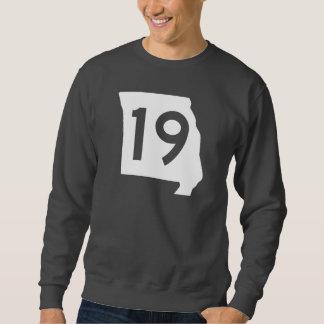 ミズーリのルート19 スウェットシャツ