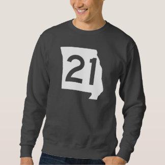 ミズーリのルート21 スウェットシャツ