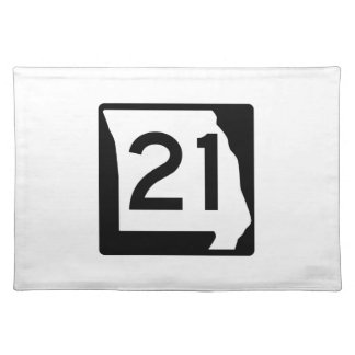 ミズーリのルート21 ランチョンマット