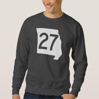 ミズーリのルート27 スウェットシャツ