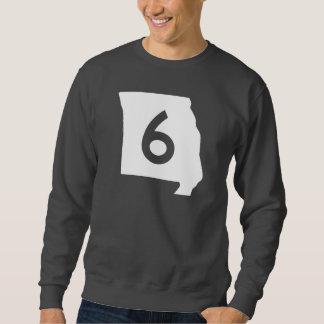 ミズーリのルート6 スウェットシャツ