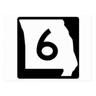 ミズーリのルート6 ポストカード