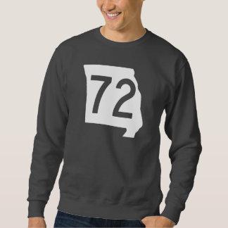 ミズーリのルート72 スウェットシャツ