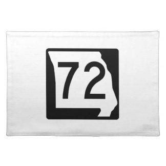 ミズーリのルート72 ランチョンマット