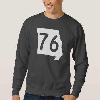 ミズーリのルート76 スウェットシャツ
