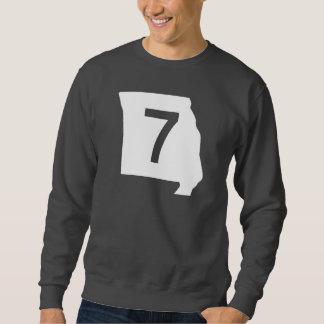 ミズーリのルート7 スウェットシャツ