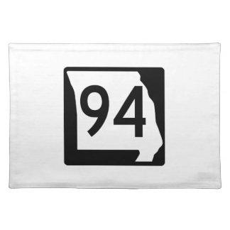 ミズーリのルート94 ランチョンマット