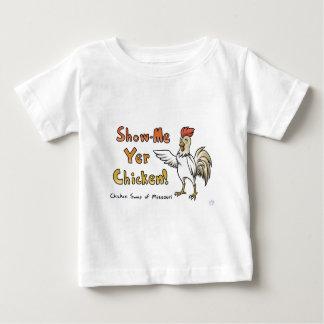 ミズーリのワイシャツの鶏の交換 ベビーTシャツ