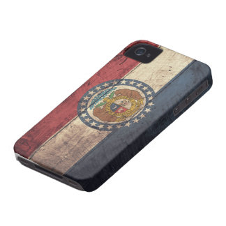 ミズーリの古い木の旗; Case-Mate iPhone 4 ケース