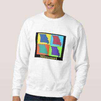 ミズーリの地図 スウェットシャツ