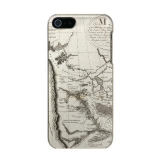 ミズーリの地図 メタリックiPhone SE/5/5sケース