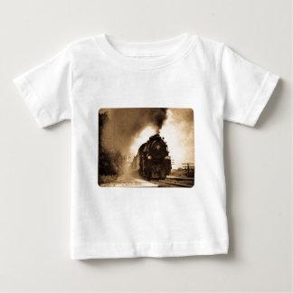 ミズーリの太平洋の蒸気の乗客のセピア色 ベビーTシャツ