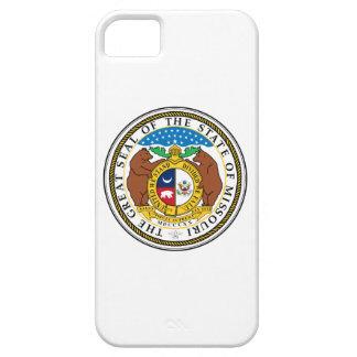ミズーリの州のシールアメリカ共和国の記号の旗 iPhone SE/5/5s ケース