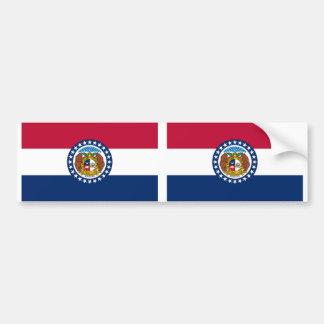 ミズーリの州の旗 バンパーステッカー