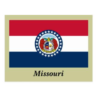 ミズーリの州の旗 ポストカード