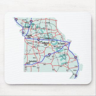 ミズーリの州連帯の地図のマウスパッド マウスパッド